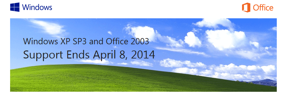 Windows XP and Office 2003 Support Ends April 8, 2014 - M2